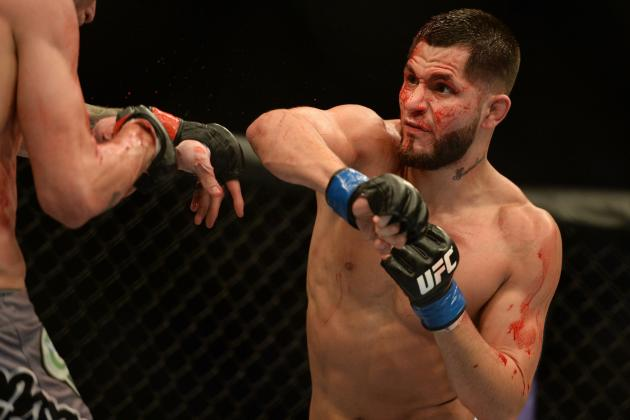 Jorge Masvidal vs. Rustam Khabilov Booked for November Fox Sports 1 Fight Card