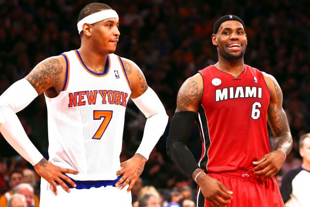 LeBron James Will Reportedly 'Strongly Consider' Signing with NY Knicks in 2015