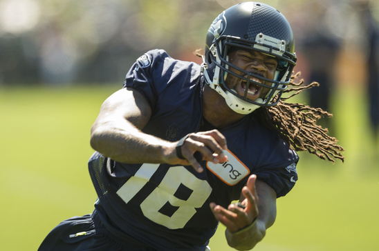 Sidney Rice Leaves Seahawks Camp for Knee Treatment