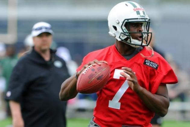Jets' Geno Smith Wants to Be Like Michael Jordan