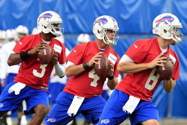 Buffalo Bills: Doug Marrone Should Be in No Rush to Name a Starting QB