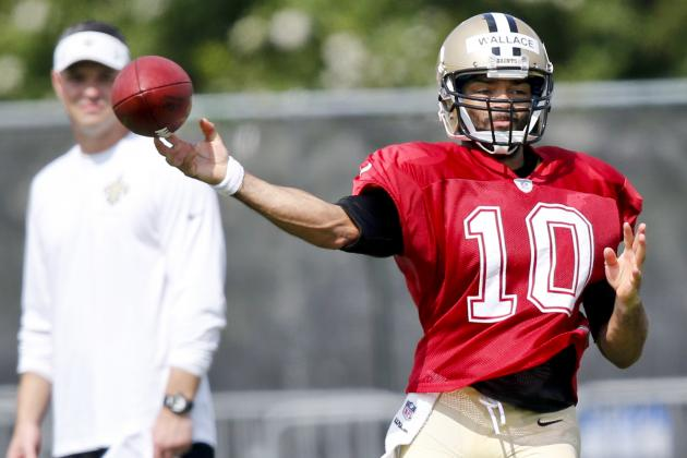 Luke McCown, Seneca Wallace Locked in Race for Backup Quarterback Job
