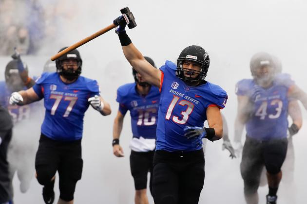 Boise State Announces Color Schemes for 2013 Football Games
