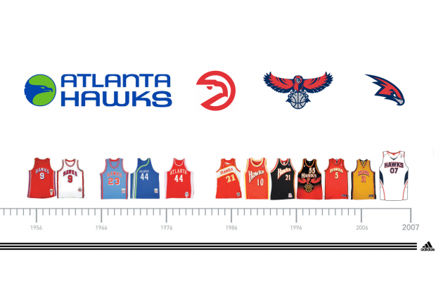 Ranking the Best Jersey Designs in Atlanta Hawks History