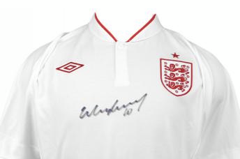 Win a Signed Rooney Shirt from B/R UK