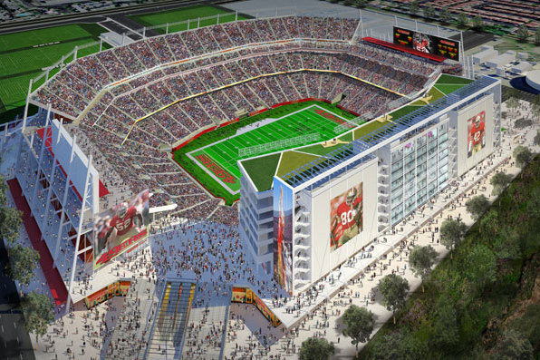 49ers' New Stadium Sports Amazing Technology, Will Save You Time Getting Beer