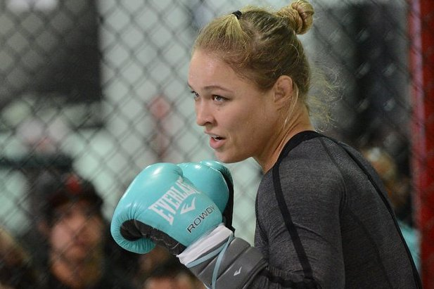 Rousey Takes Training Camp on Location for Expendables 3 Filming