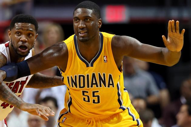 USA Basketball Wants Roy Hibbert, but Probably Can't Have Him