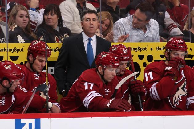Phoenix Coyotes Plan Open Competition for Top Lines