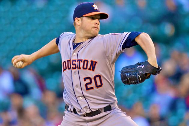 Astros SP Bud Norris Reportedly Traded to Orioles