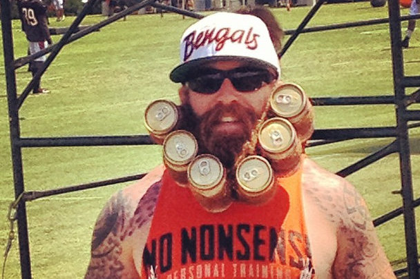 Bengals Fan Easily Wins Best Look of Training Camp with Incredible Beard