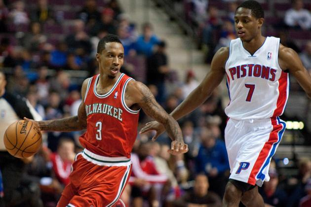 Brandon Jennings Will Reinvent Career with Detroit Pistons