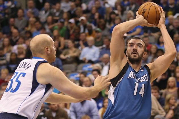 Nikola Pekovic Rumors: Timberwolves Should Give Big Man Extra Year in New Deal