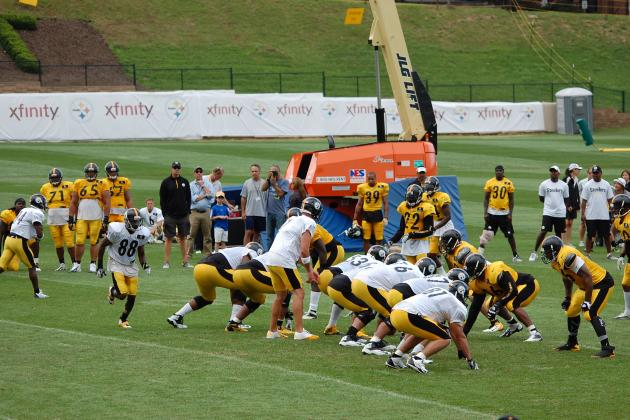 Pittsburgh Steelers: Observations from Wednesday's Training Camp Practice