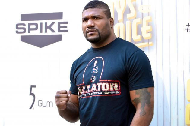 Rampage Jackson vs. Tito Ortiz Headlines 1st Ever Bellator Pay-Per-View
