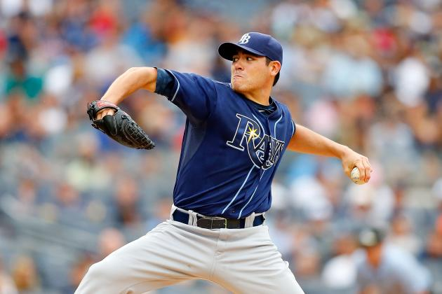 Tampa Bay Rays Place Pitcher Matt Moore on Disabled List