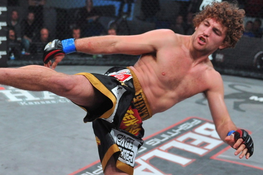 Bellator 97 Results: Ben Askren Defeats Andrey Koreshkov Via TKO in Round 4