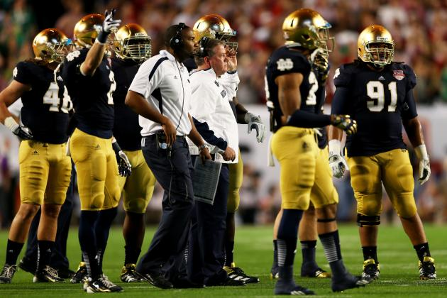 Notre Dame Football: Pinpointing Top Tests on Fighting Irish's 2013 Schedule