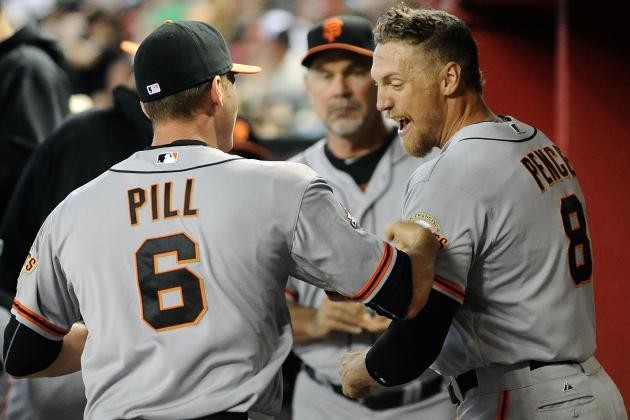 Pill, Kieschnick Wear Big-Boy Pants in SF Giants Rout