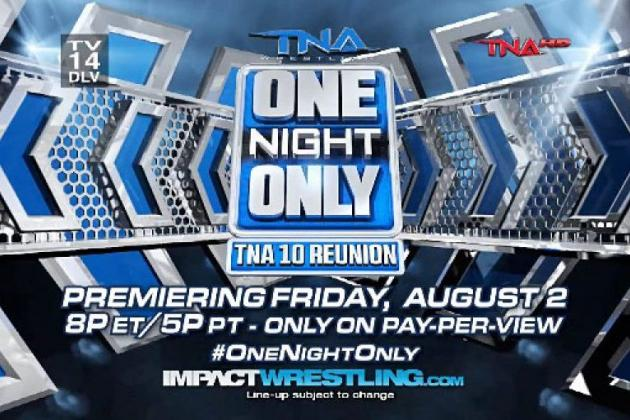 TNA 10 Reunion 2013: Match Card, Live Stream and Spoiler-Free Preview