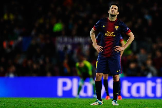 Manchester United Transfer Rumours: Third Bid for Cesc Fabregas Is Waste of Time