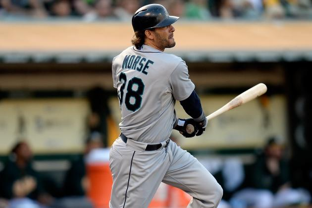 Along with Outfield, Morse Will See Time at First