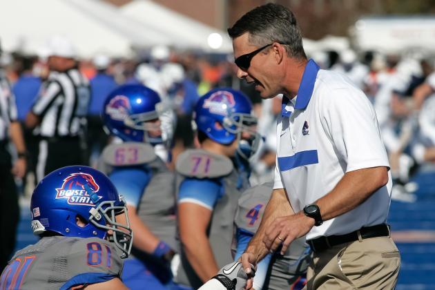 Boise State's Petersen Is Mr. Consistency
