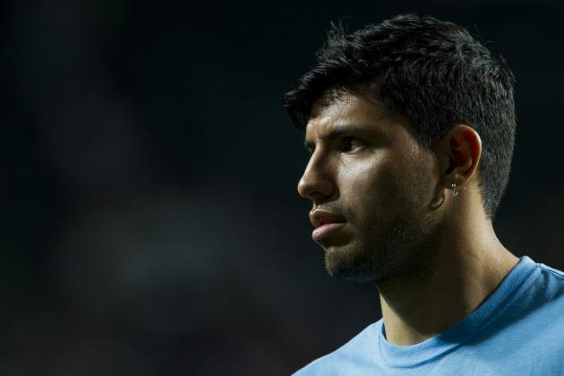 Aguero's Fitness Key to Successful Season for Manchester City