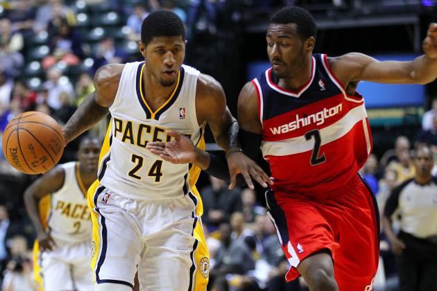 Paul George, Kyrie Irving Excited for John Wall and His New $80 Millioncontract