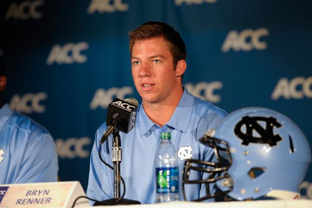 For First Time in College Career, UNC's Renner Feeling Free
