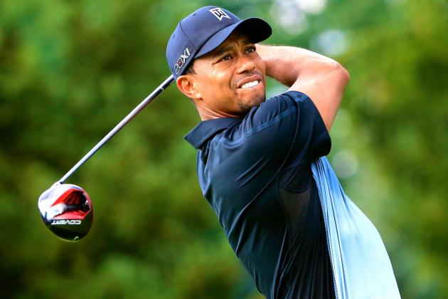 Tiger Woods at WGC-Bridgestone Invitational 2013: Round 1 Score and Analysis