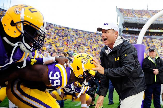 LSU Football: Tigers Ranked Too Low in USA Today Preseason College Football Poll