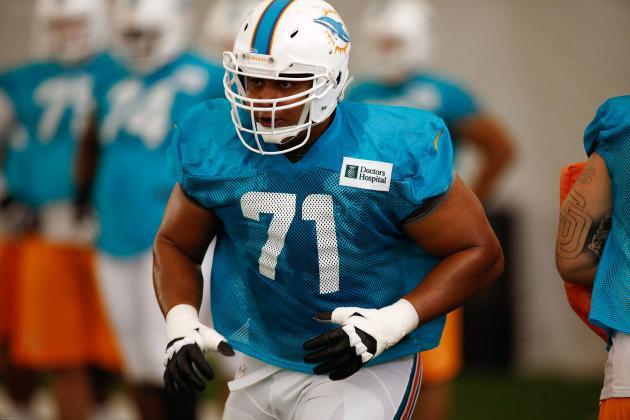 Jonathan Martin's Struggles Should Be Miami Dolphins' Primary Camp Concern