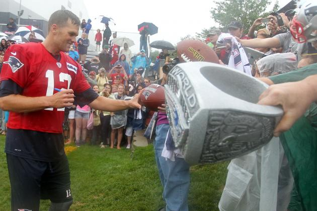 2013 Fantasy Football Mock Draft Results: Is Tom Brady Worth a 5th Round Pick?
