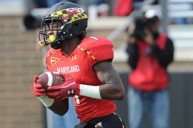 Breaking Down the Terps' Situation at WR