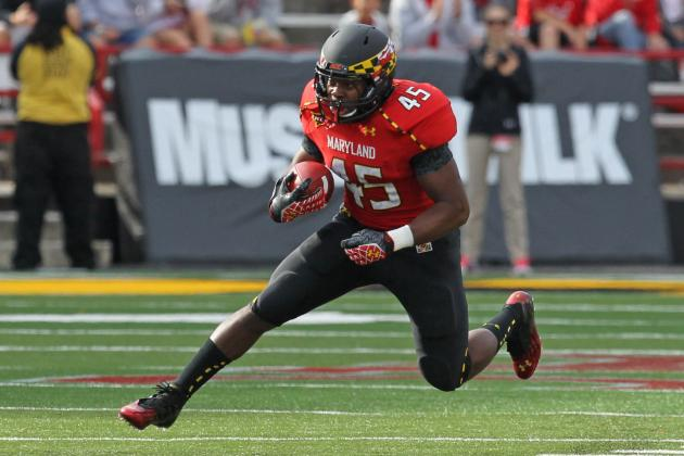 Brandon Ross and Albert Reid Battle for Maryland's Starting RB Job