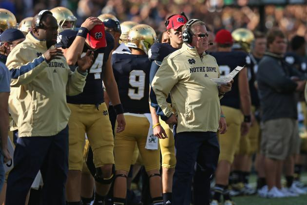 What Notre Dame Must Do to Vault Up USA Today Coaches Poll