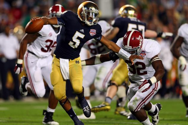 Is Notre Dame's USA Today Poll Ranking a Reflection of Losing Everett Golson?