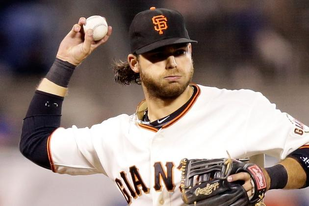 Brandon Crawford out of Lineup vs. Phillies; Jeff Francoeur in LF