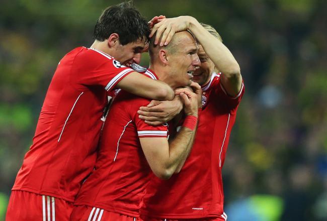 Bayern Munich vs Borussia M gladbach