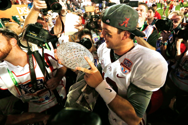 6 SEC Teams in USA Today Coaches' Poll Means 1-Loss Champ Can Play for BCS Title