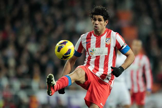 Liverpool Reportedly Bid on Atletico Madrid Striker Diego Costa