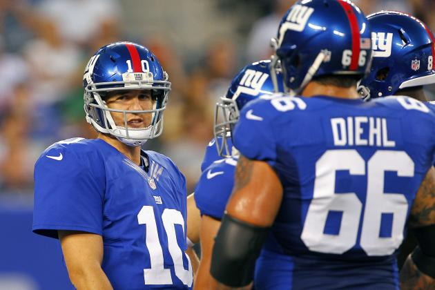 Previewing the Giants' Camp Battle Between David Diehl and Rookie Justin Pugh