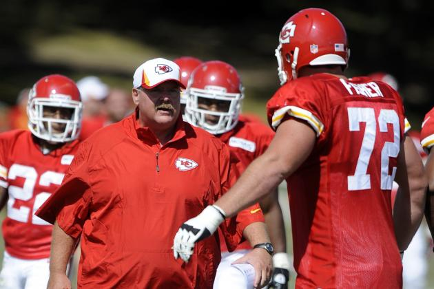 Andy Reid on Eric Fisher: I Expect Big Things for Him