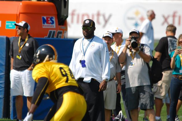 Pittsburgh Steelers: Observations from Thursday's Training Camp Practice