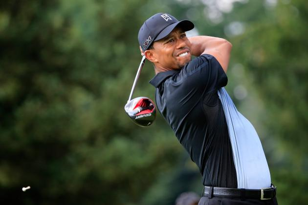 WGC-Bridgestone: Is Tiger Woods Playing Mind Games by Bashing Oak Hill Greens?