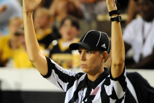 Sarah Thomas Becoming 1st Female Full-Time Referee Would Be Great for NFL