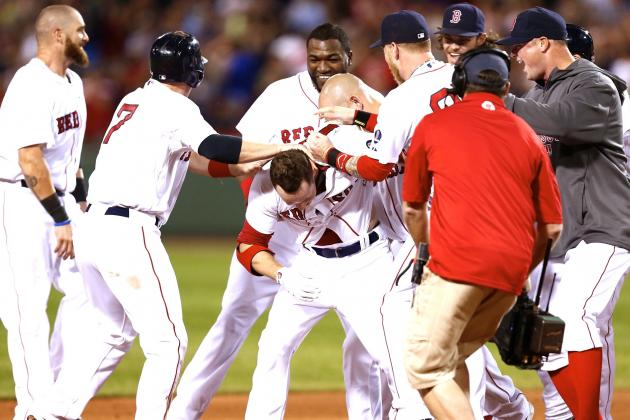 Red Sox Pull Off 6-Run Rally for Incredible Walk-off Win