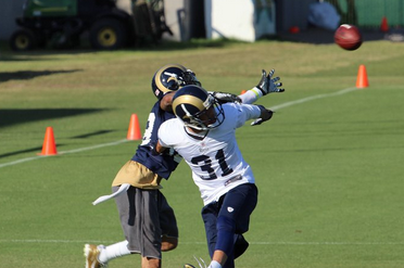 Photo Gallery: Scenes from Rams Training Camp
