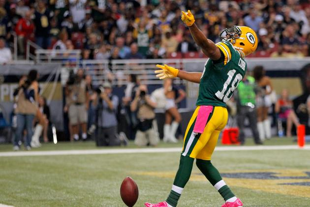 Packers' Randall Cobb Has Case of the Drops